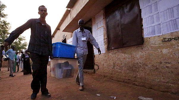 إغلاق مراكز الاقتراع في السودان