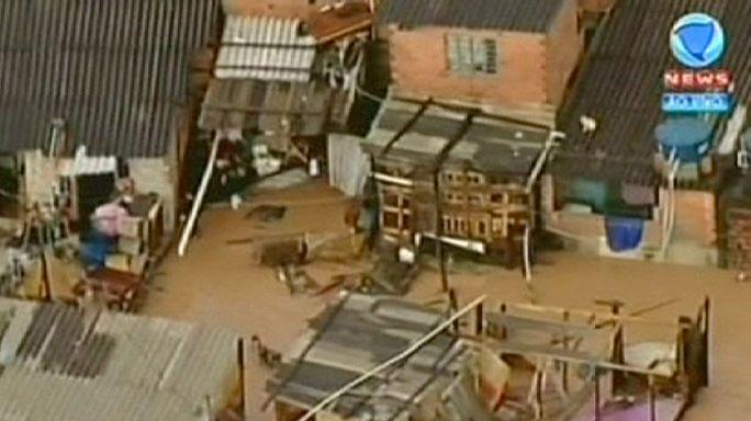 Бразилия: пригород Сан-Паулу ушел под воду