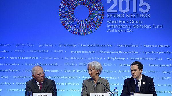 Grecia protagoniza la reunión del Fondo Monetario Internacional en Washington