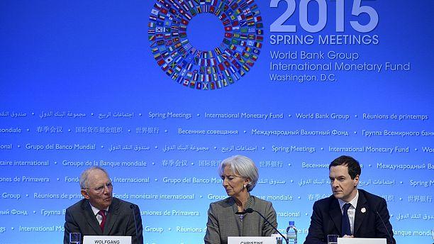IMF and Athens dig in as Greek debt dominates Washington talks