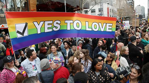 Image: Marriage Equality Rally in Melbourne