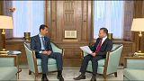 Siria, intervista ad Assad: nessuna soluzione finché si sostengono i terristi, dice.