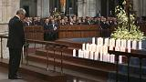 Families of Germanwings crash victims attend memorial in Cologne