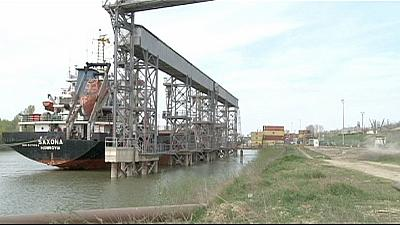 The Danube provides new trade route for Moldova