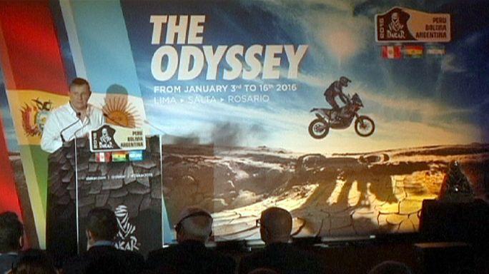 Le Dakar-2016 ira du Pérou à l'Argentine