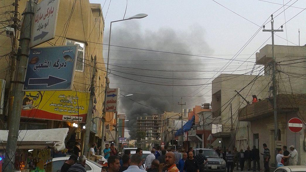 Az Egyesült Államok konzulátusa előtt robbant pokolgép Irakban