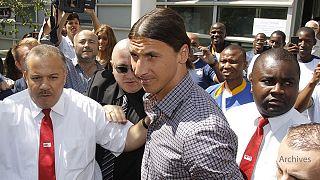 Zlatan Ibrahimovic cuenta los días para volver a jugar en la liga francesa de fútbol