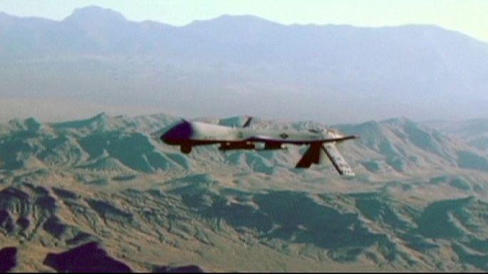 Drones americanos são lançados da Alemanha