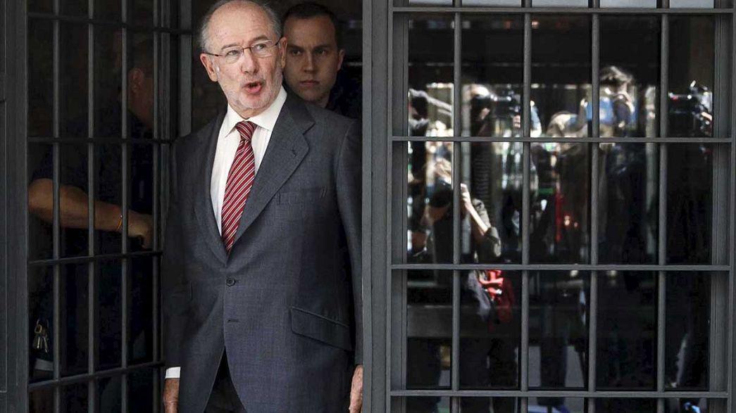 Bloquedas todas las cuentas de Rodrigo Rato en España