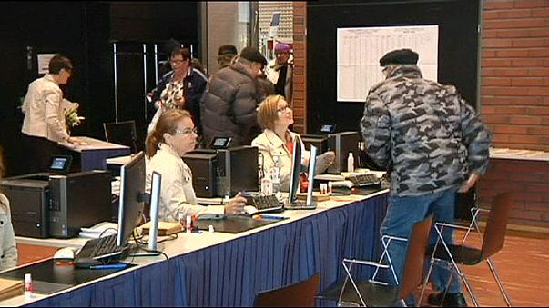 Выборы в Финляндии: предварительное голосование