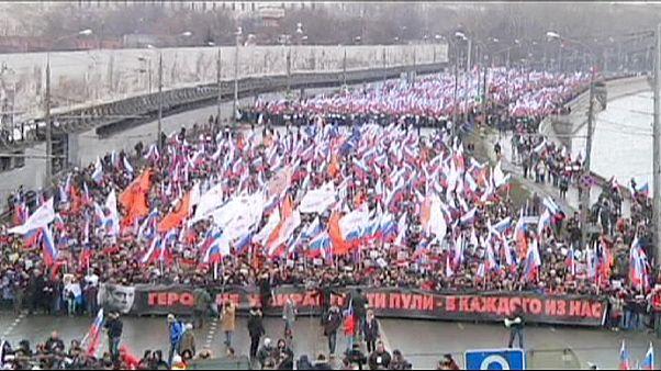 La oposición a Putin se une tras el asesinato de Nemstov