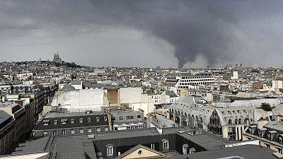 Spectaculaire incendie en région parisienne : retour du trafic à la normale