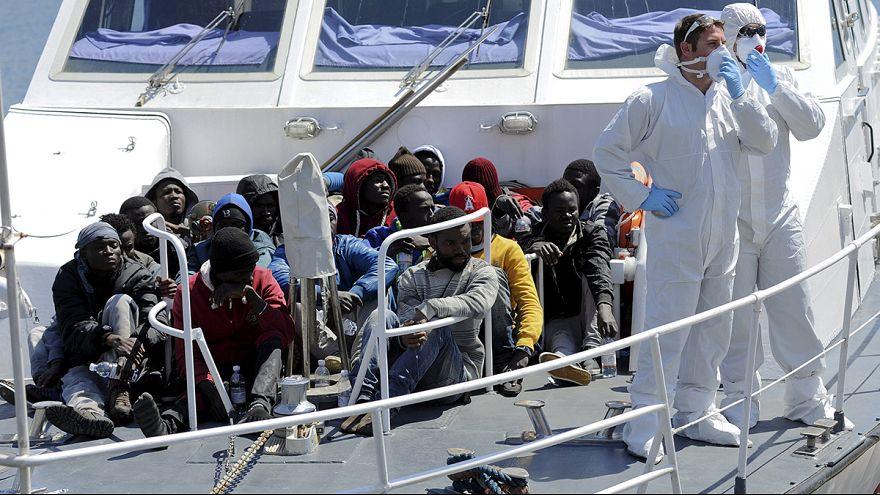 موجات جديدة من المهاجرين غير الشرعيين لا تزال تتدفق على ايطاليا