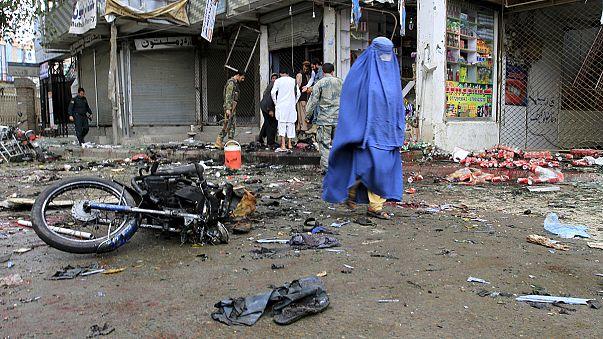 Afganistan'daki intihar saldırısının sorumluluğu IŞİD üstlendi