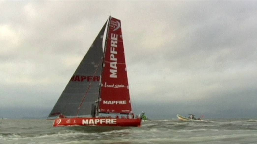 Mapfre to consider appeal against points penalty in Volvo Ocean race