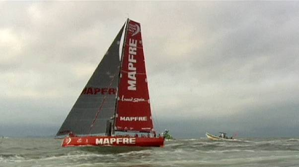 Volvo Ocean Race: Reparações custam dois pontos ao MAPFRE