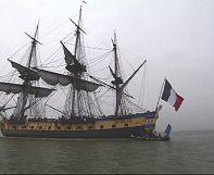 Historische Jungfernfahrt – die Hermione segelt nach Amerika