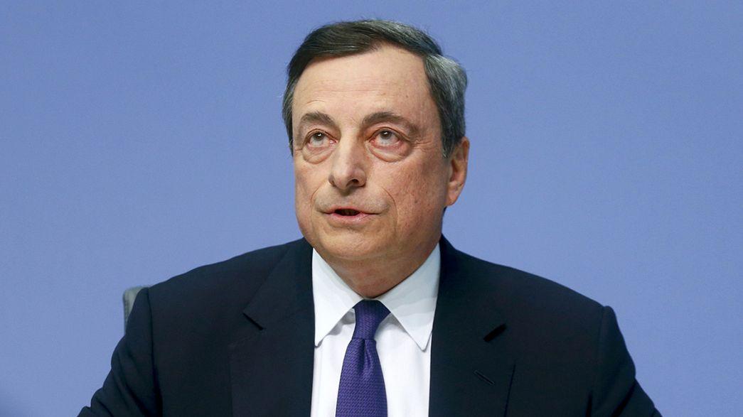 """Il governatore Draghi lancia l'allarme: """"Atene deve agire urgentemente"""""""