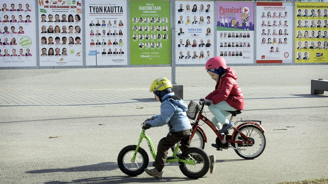 Los finlandeses votan bajo el impacto de la crisis y la necesidad de cambio