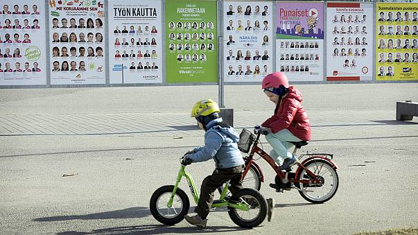 Election day arrives in recession-hit Finland