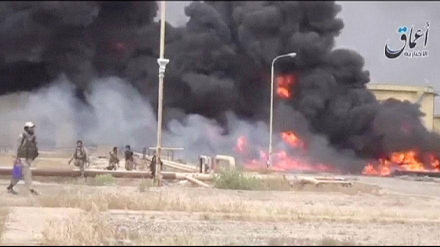 نزوح آلاف العائلات العراقية من الرمادي