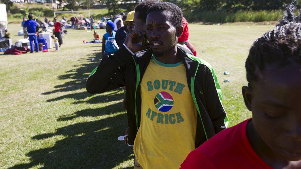 Presidente da África do Sul encoraja imigrantes a ficar no país