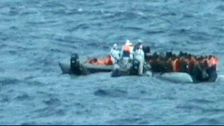 700 desaparecidos em naufrágio de barco que transportava imigrantes clandestinos