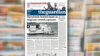 Death in the Mediterranean: how papers reported the tragedy
