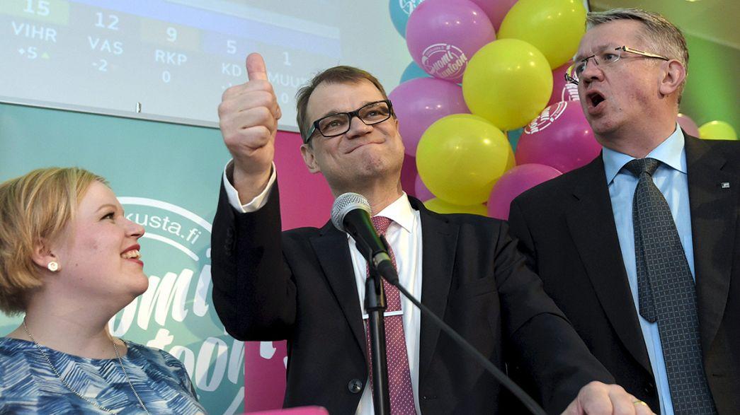 Finlande : les centristes remportent les législatives