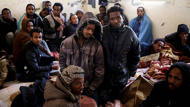 Líbiában is elviselhetetlen a menekülők helyzete