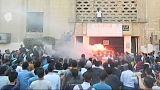 Diákok csaptak össze rendőrökkel Egyiptomban