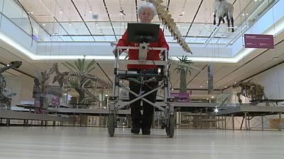 The walking robot set to help elderly people live an autonomous life
