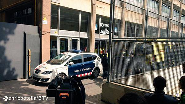 Barcelona'da öğrenci tatar yayıyla öğretmenini öldürdü