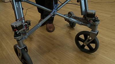 Do you know: what's a robotic walker?