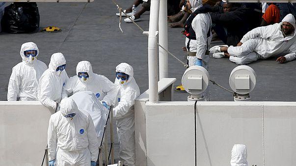 Llegan a Malta supervivientes y víctimas mortales del gran naufragio de este fin de semana
