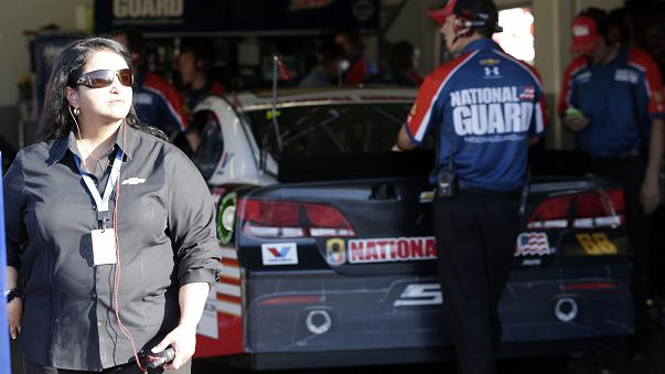 Alba Colon is NASCAR's top female engineer. The GM engineer and manager is a trailblazer in her field.