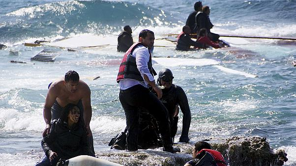 Migrants drown as boat runs aground off Greek island of Rhodes