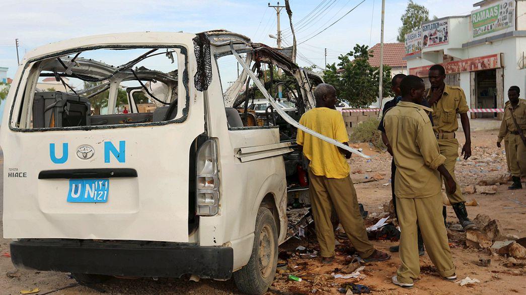 Un atentado de Al Shabab mata a personal de Naciones Unidas en Somalia