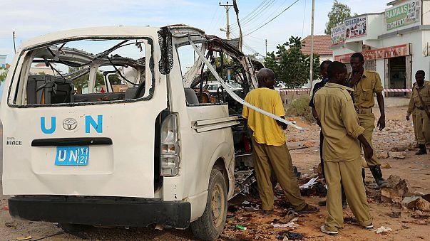 Somali'de BM aracına saldırı: En az 9 ölü