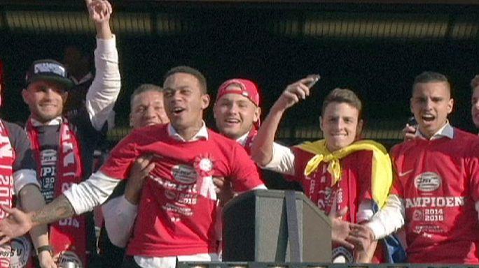 PSV Eindhoven şampiyon oldu, Messi ve Ronaldo rekora doymuyor