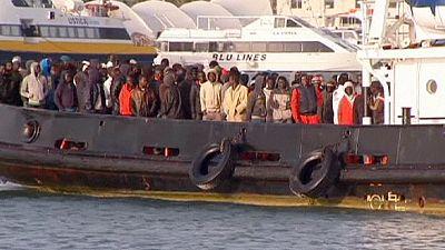Rota mediterrânica dos migrantes. histórias de dor e sofrimento