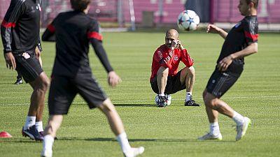 Bayern München mit Bastian Schweinsteiger und Lahm gegen Porto