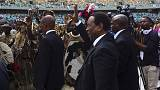 Dél-Afrika: a zulu király az idegengyűlölet beszüntetésére szólított föl