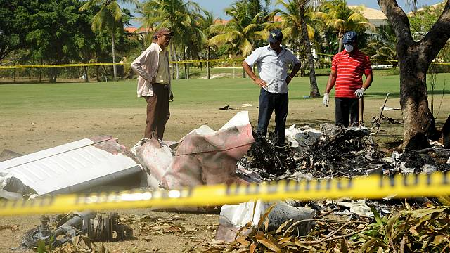 Small plane crash in Dominican Republic kills seven