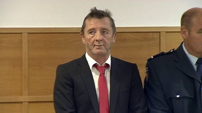 AC/DC drummer admits 'threatening to kill', but may not be convicted