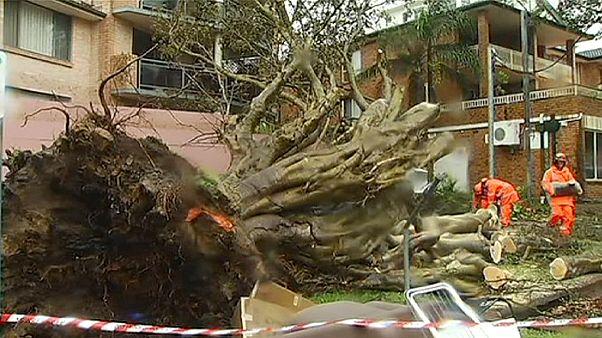 Violenta tempesta si abbatte sull'Australia