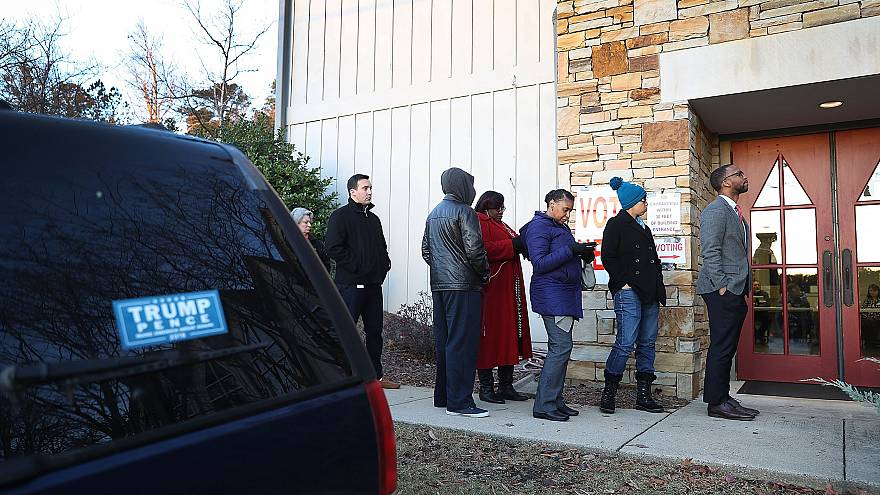 Image: Voters In Alabama Head To The Polls For State's Special Election To
