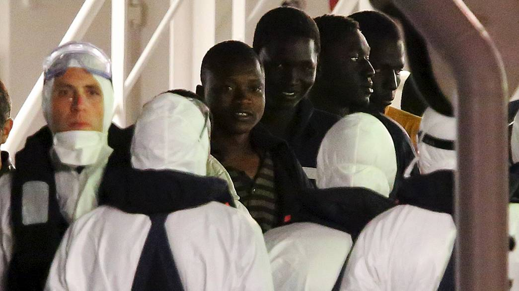 Captain of migrant boat arrested on suspicion of multiple homicide
