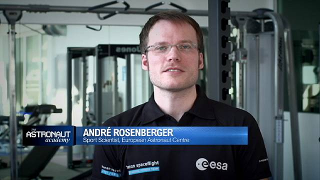 ESA Astronaut trainer André Rosenberger explains how you get fit for space