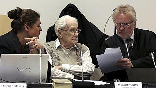 """El """"contable"""" de Auschwitz admite su responsabilidad moral en la muerte de los deportados"""